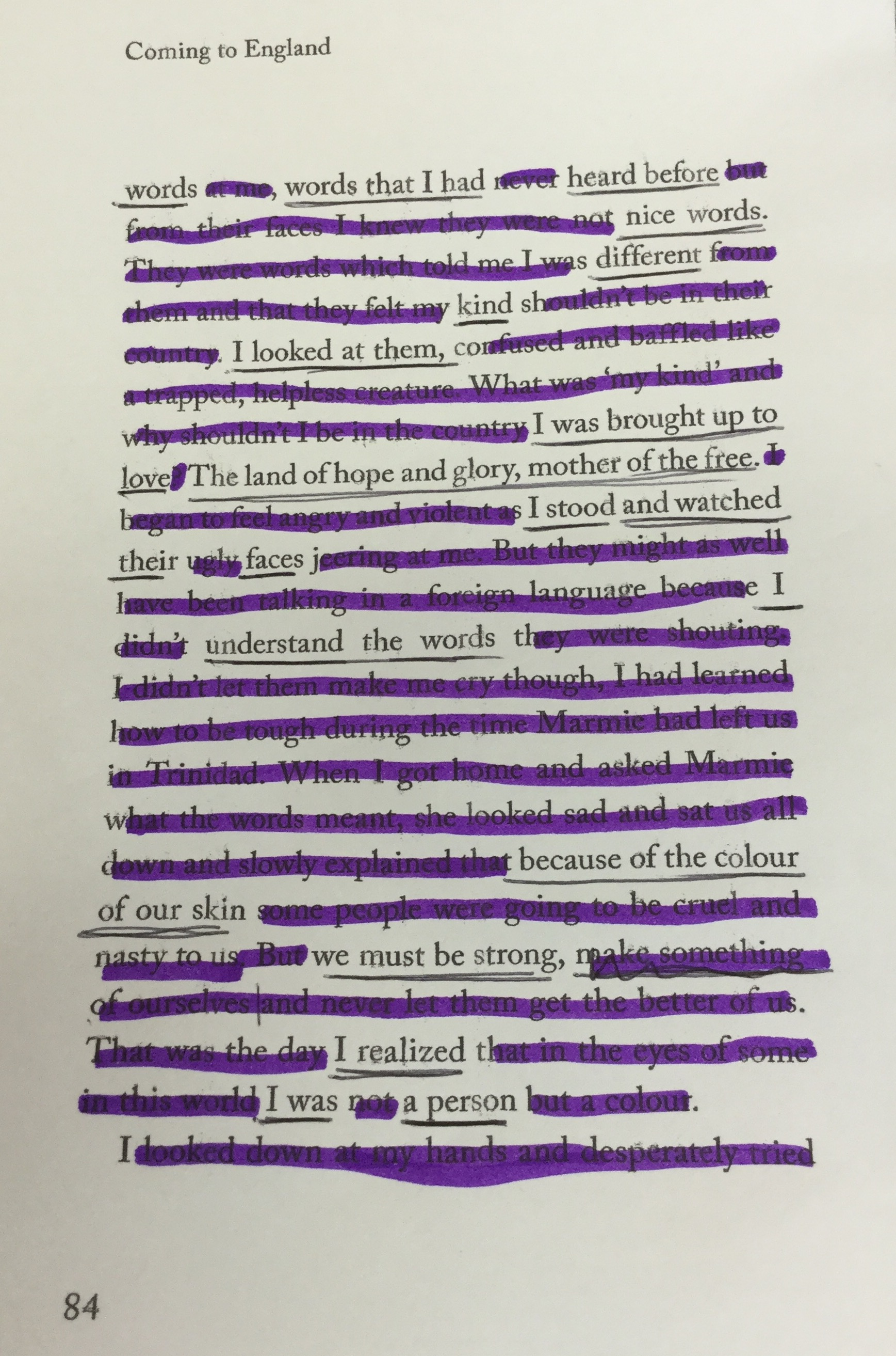 Colour childrens literature - Blackout Poetry